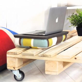 """Столик для ноутбука iQDesk """"Полосы"""""""