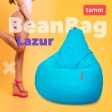 """Кресло-груша """"Bean Bag""""  Лазурь"""