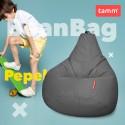 """Кресло-груша """"Bean Bag"""" Пепельный"""