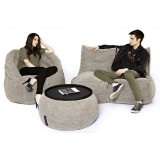 Бескаркасный диван TWIN COUCH™ + Butterfly Sofa™ + Versa Table™
