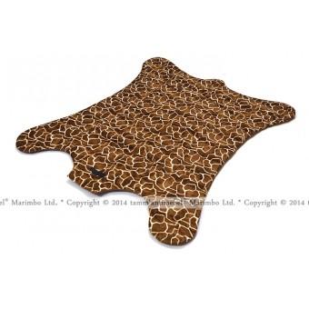 """Мягкий коврик из меха - """"Жираф"""""""