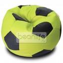 Кресло-мешок FOOTBALL Зелено-черный [Футбол]