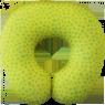 """Подушка под шею """"Лимон"""""""