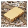 """Зажигалка """"Zippo"""" 204 Classic Brushed Gold"""