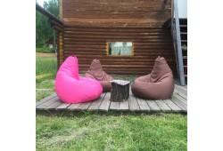 Варианты летнего отдыха на бескаркасных креслах