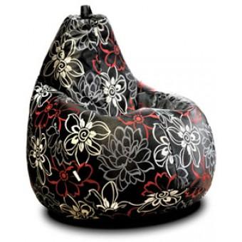 """Кресло-мешок """"Black Rose"""" [Блэк Роуз]"""